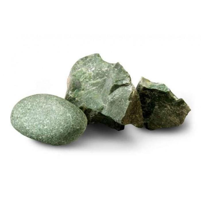Камень жадеит колотый 20 кг, ведро, Огненный камень фото