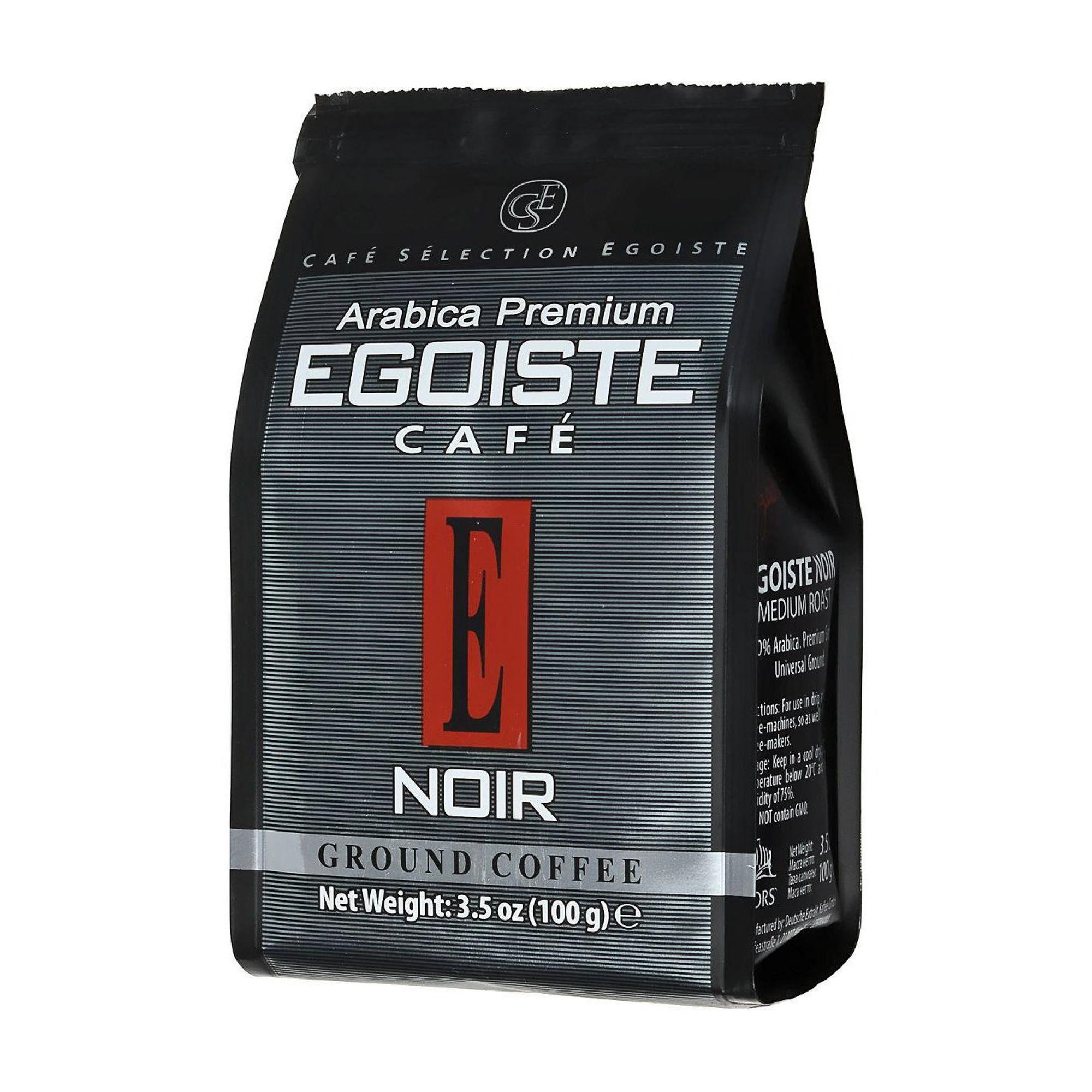 Кофе молотый Egoiste Noir 100 г фото