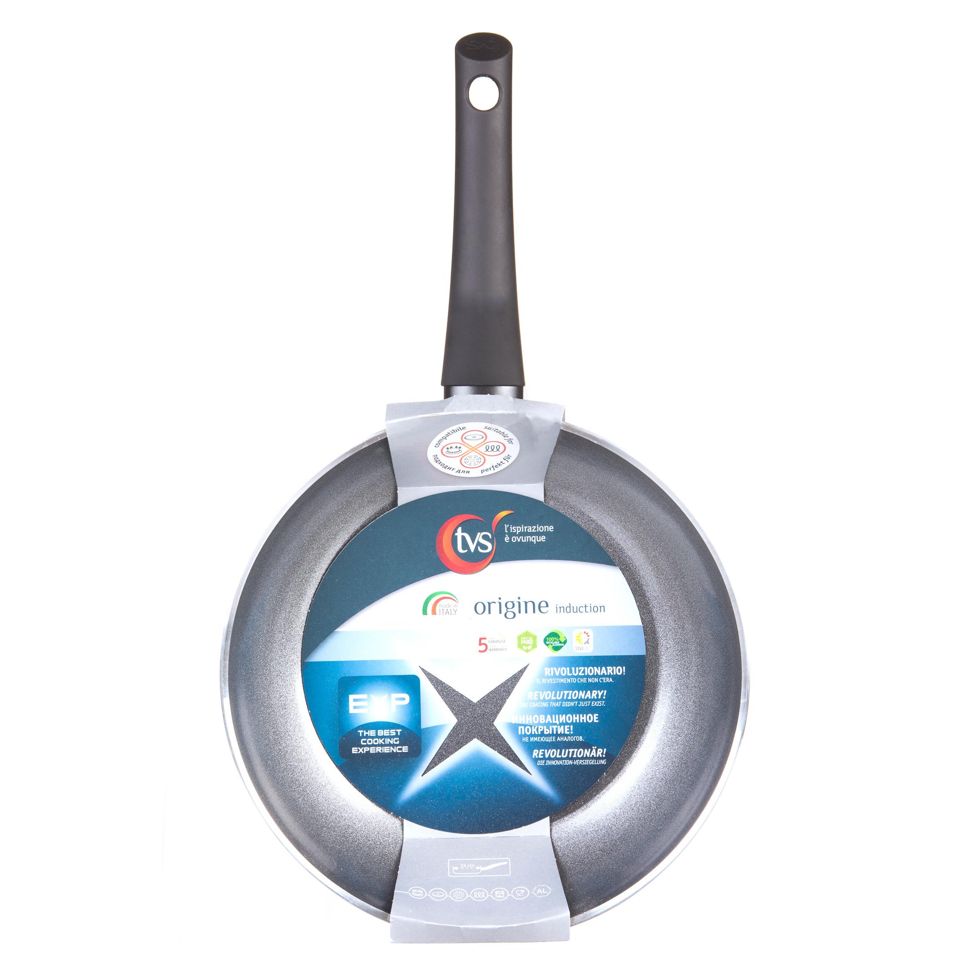 Сковорода Tvs origine 24 см 4N163243310001 сковорода d 24 см kukmara кофейный мрамор смки240а