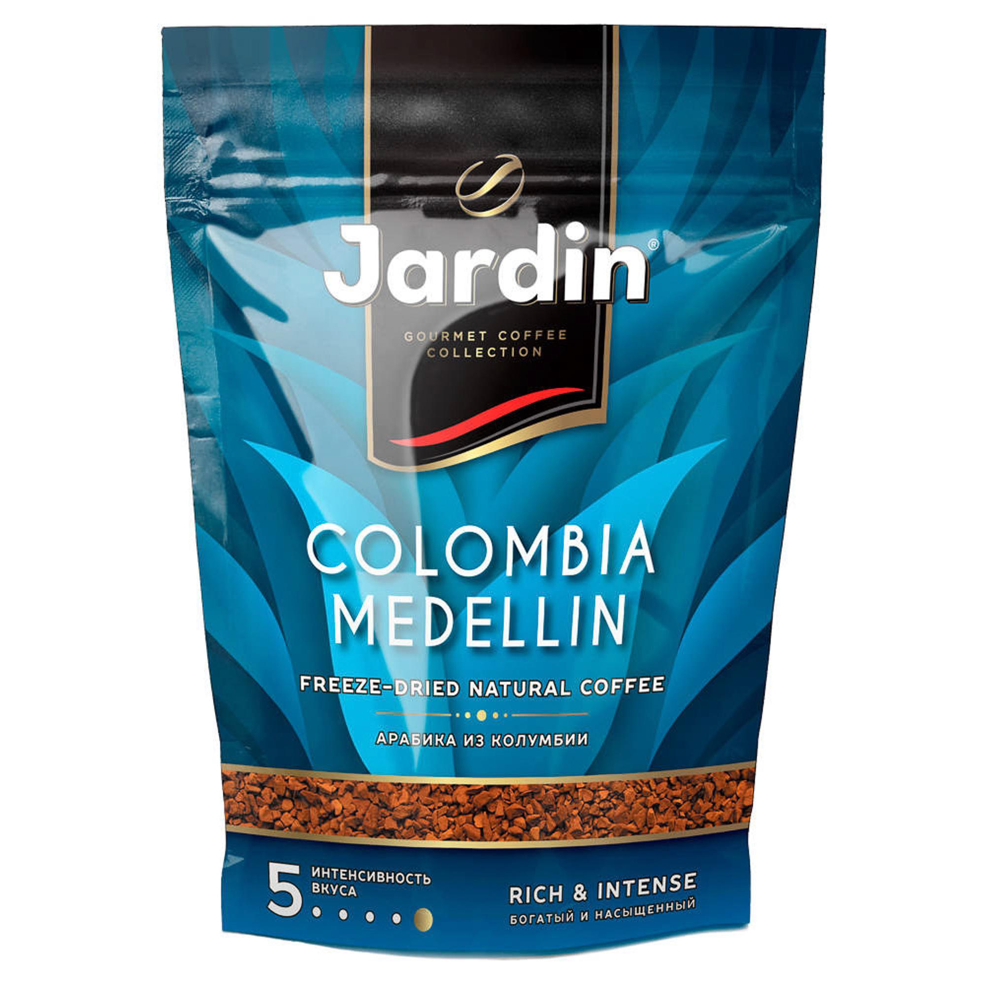 Кофе растворимый Jardin Colombia Medellin 150 г