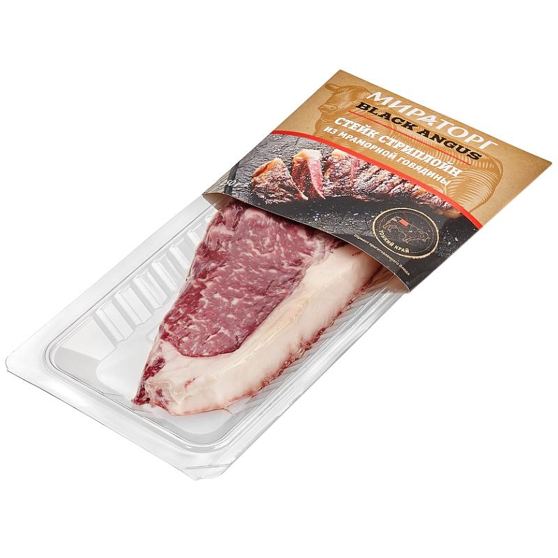 Стейк Стриплоин Мираторг из говядины, 320 г