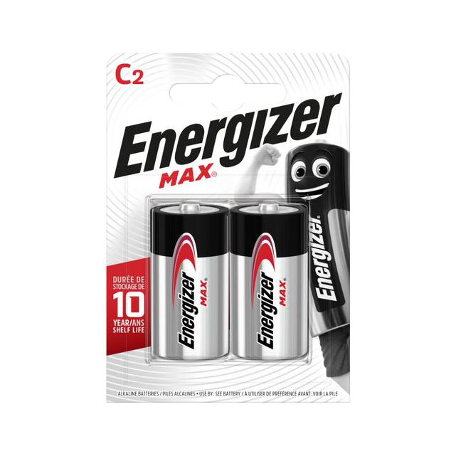 Батарейки Energizer Max С 2 шт фото