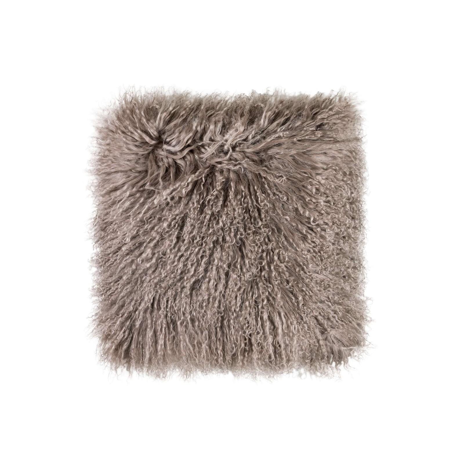 Подушка декор нордик меховая 40х40 Togas