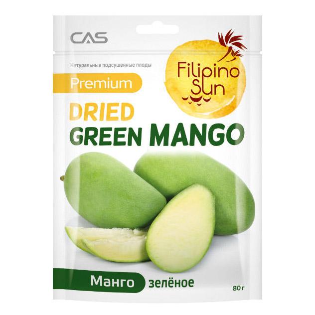 Плоды манго Filipino Sun зеленого, 100 г