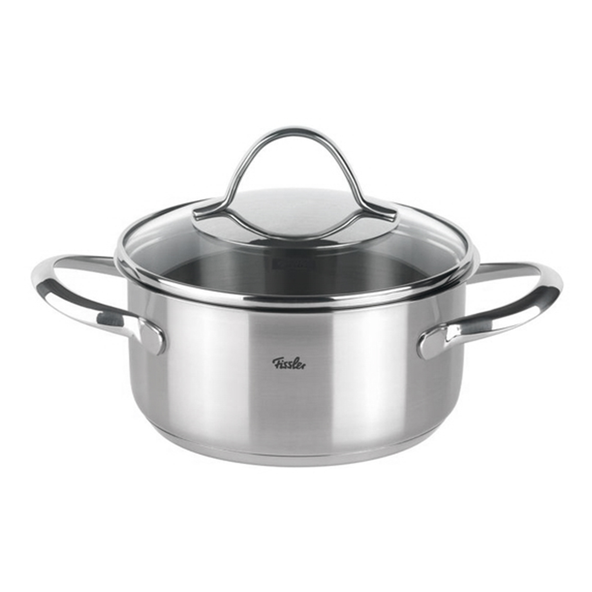 Купить Кастрюля Fissler Paris 16 см см 1, 4 л, Серебристый