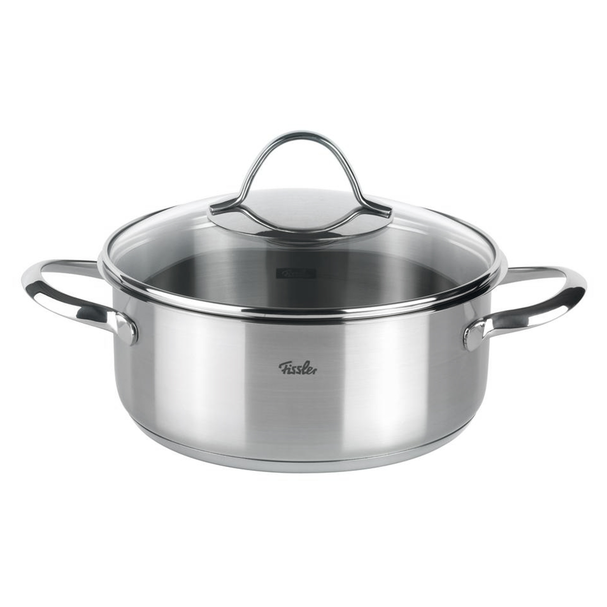 Купить Кастрюля Fissler Paris 20 см см 2, 4 л, Серебристый
