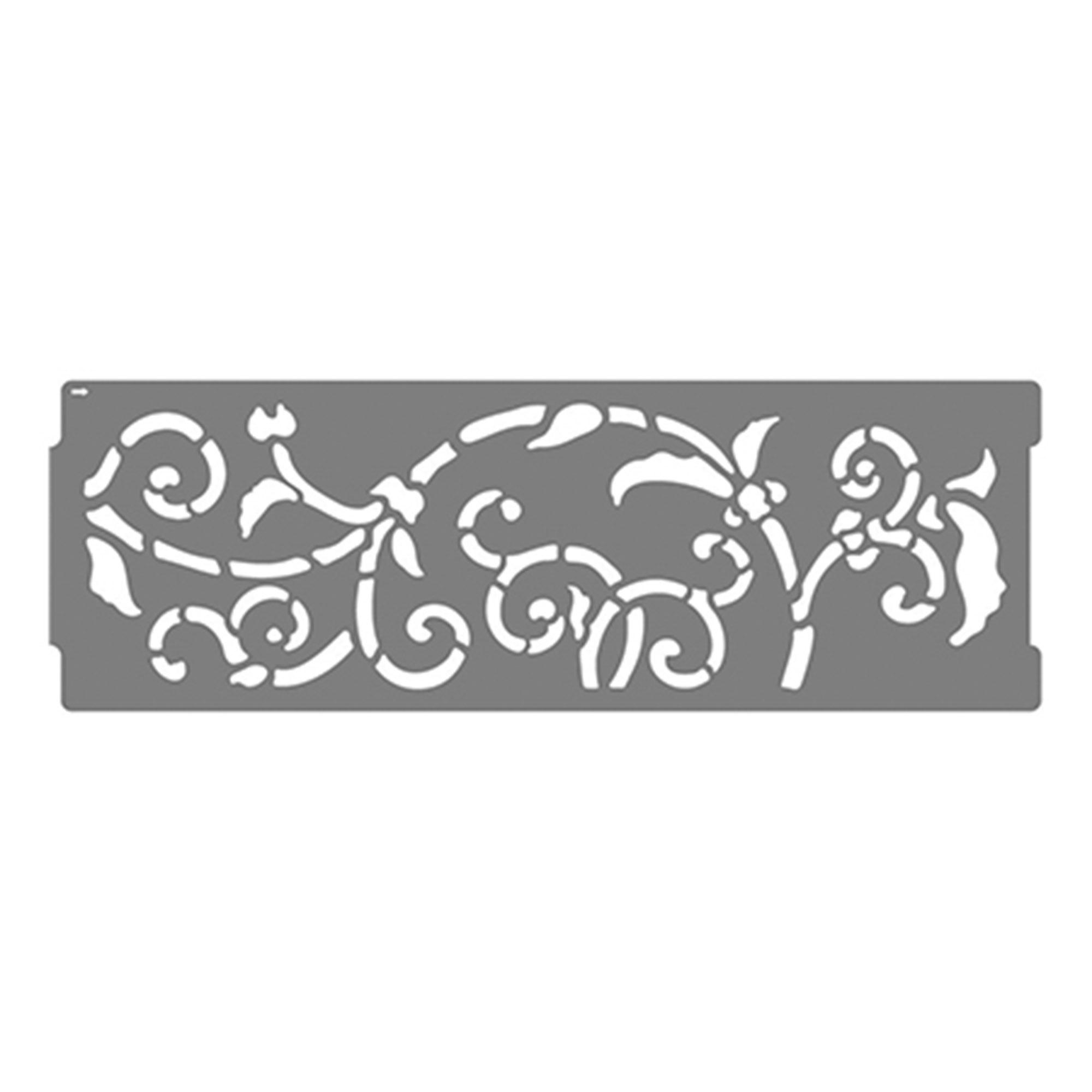 Трафарет бордюр Artdecor Ковка арт.10606