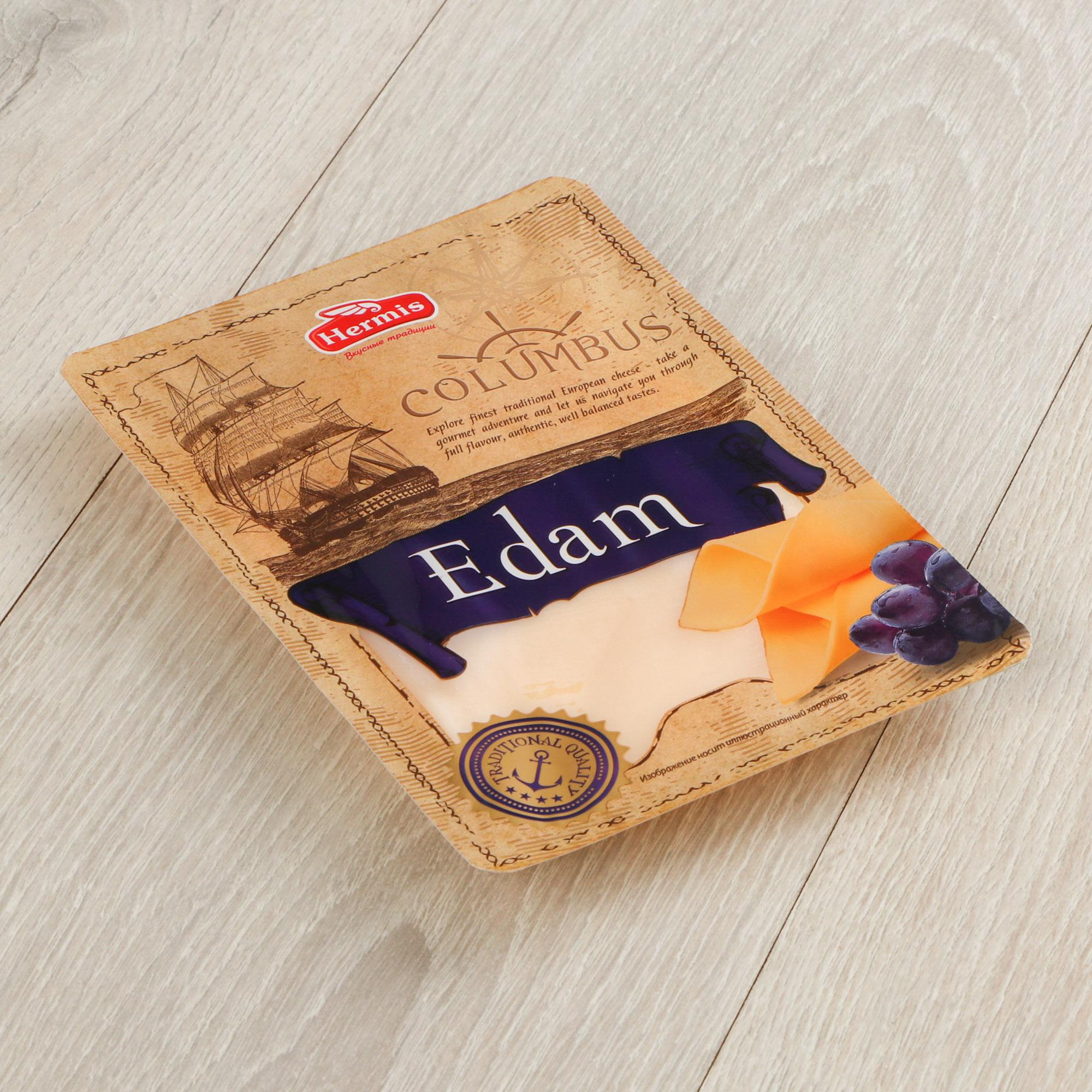 Сыр Columbus Эдам 40% 150 г