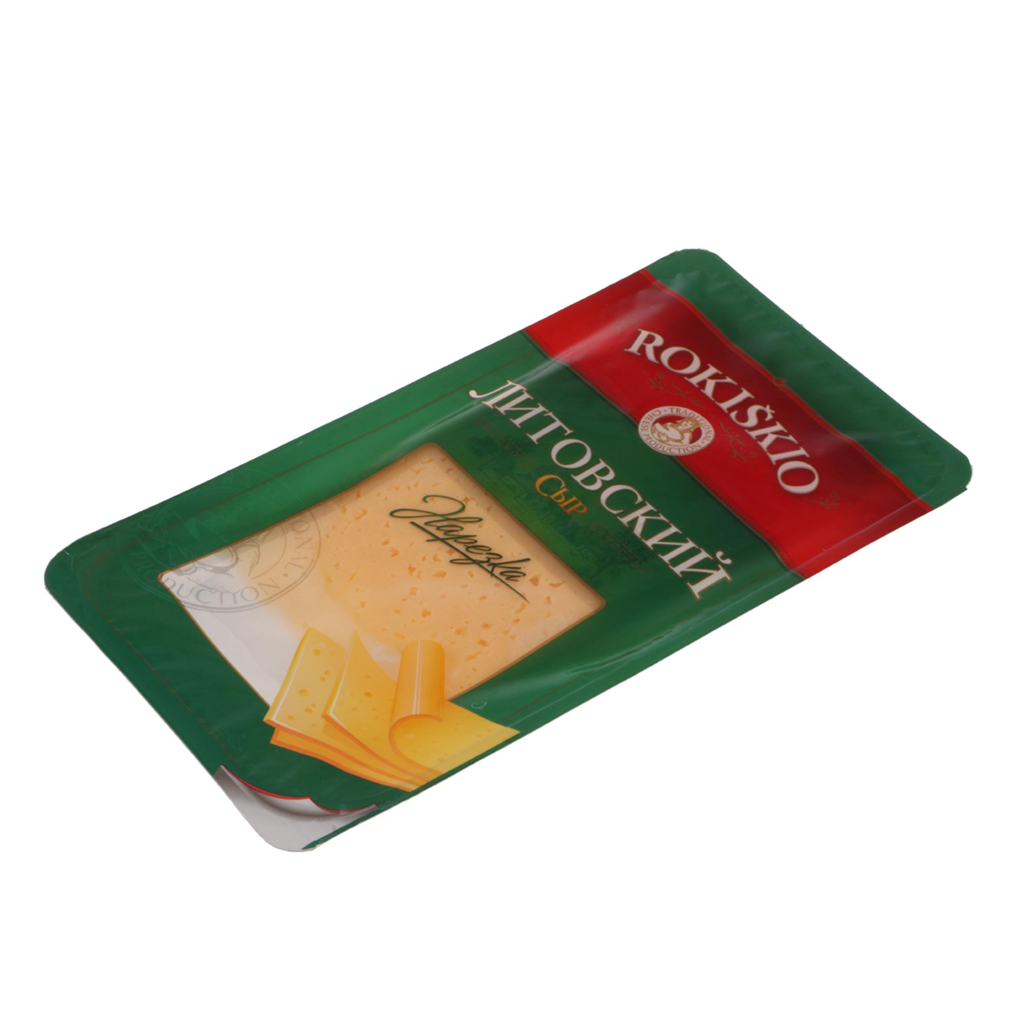 Сыр полутвердый Rokiskio Литовский 140 г