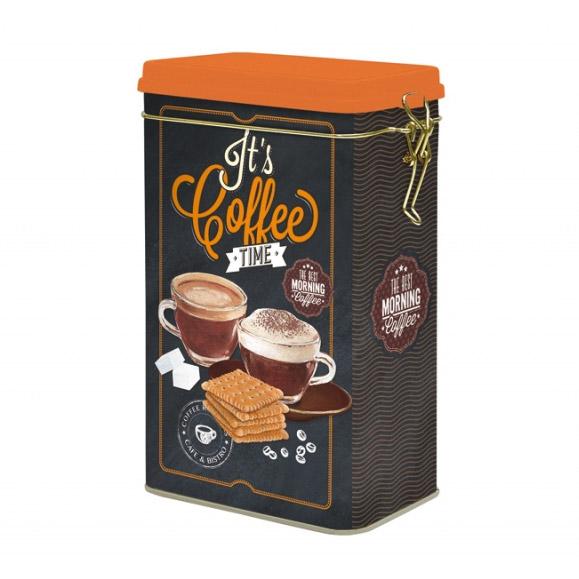 Банка для кофе Nuova R2S 13 х 8 х 21 см блюдо для торта nuova r2s подарки вращающееся диаметр 32 см
