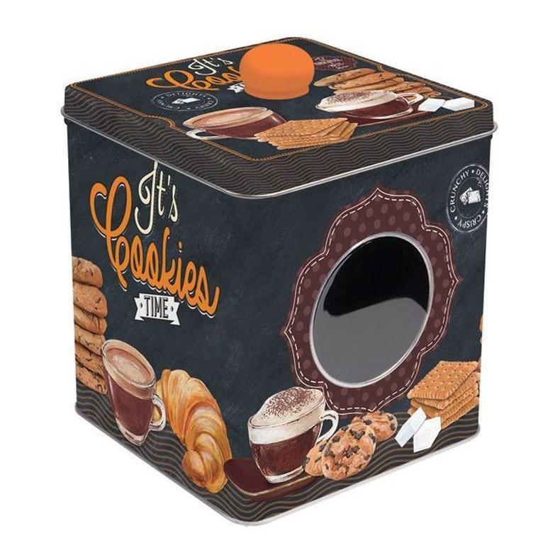 Банка для конфет Nuova R2S 13х13х14,5 см блюдо для торта nuova r2s подарки вращающееся диаметр 32 см