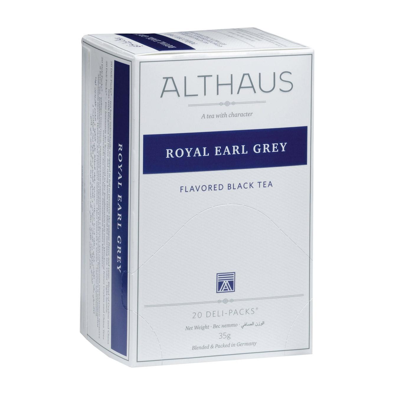 Чай Althaus Royal Earl Grey черный с бергамотом 20 пакетиков фото