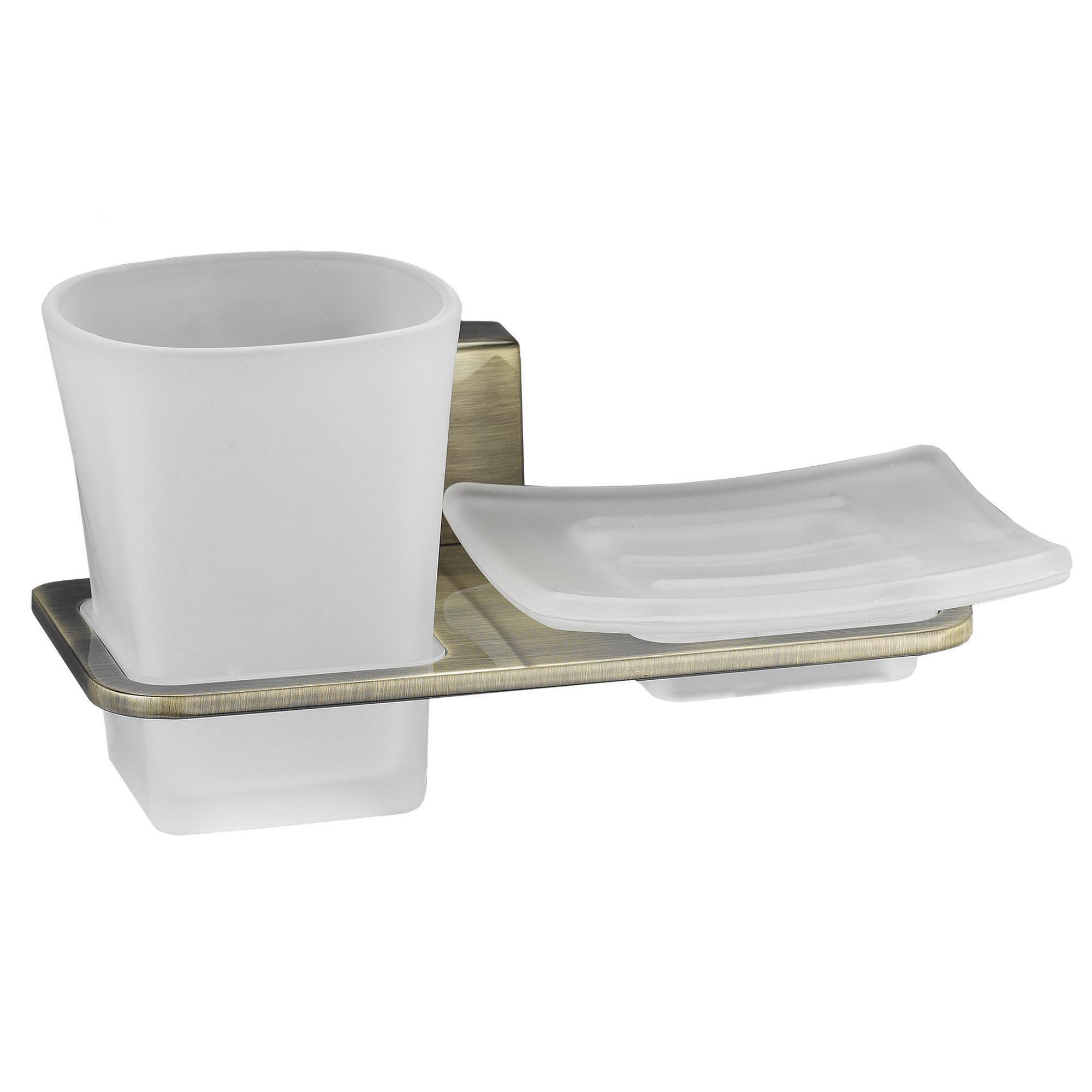 Держатель стакана и мыльницы, K-5226 WasserKraft держатель стакана и мыльницы wasserkraft berkel k 6826