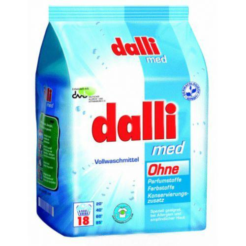 Концентрированный стиральный порошок Dalli Med без красителей 1.2 кг