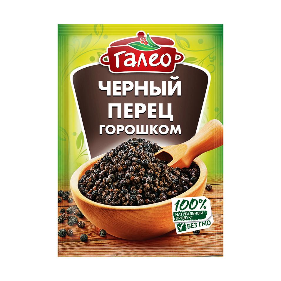 Перец черный горошек Galeo 20 г перец черный горошек kotanyi 36 г