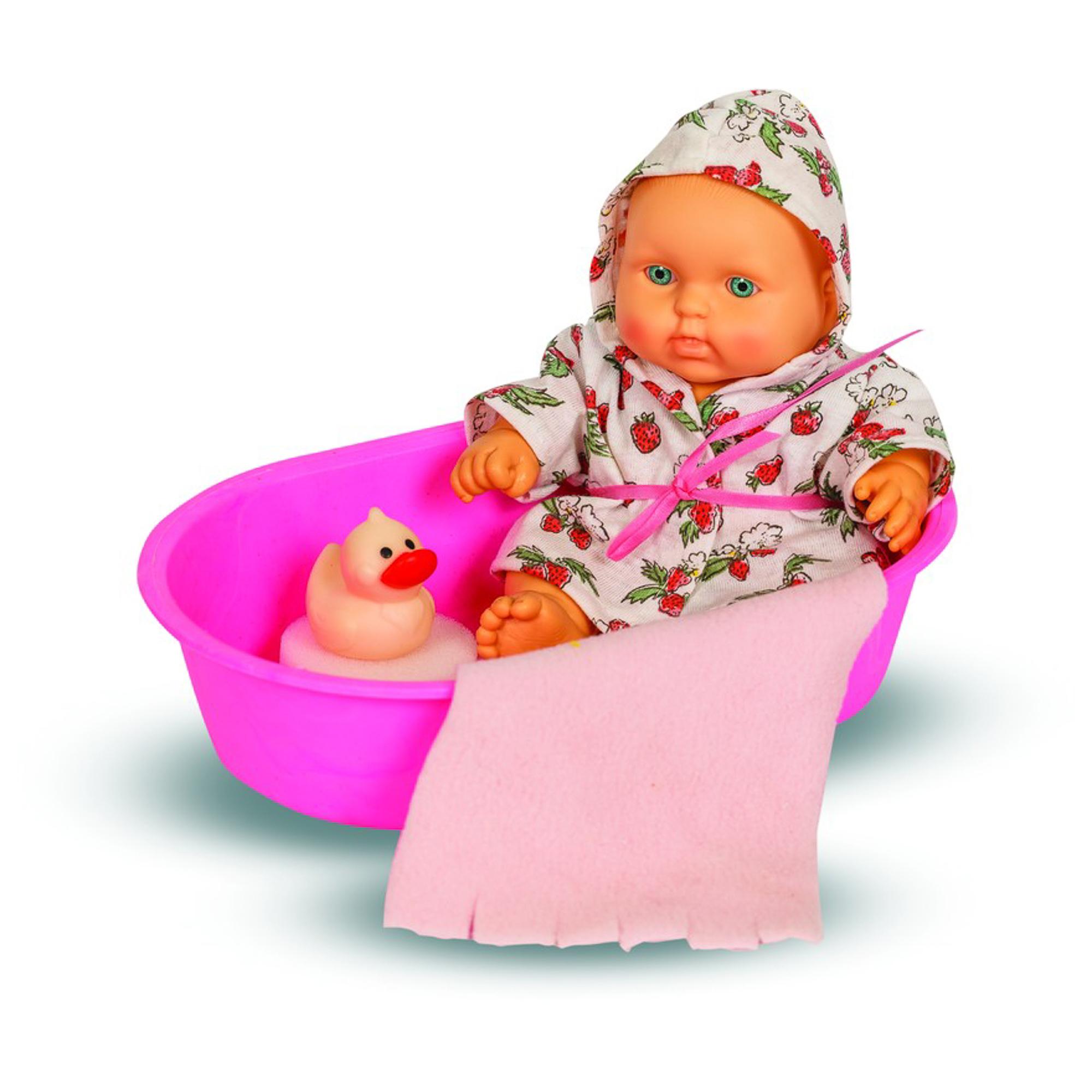 Купить Кукла набор карапуз в ванночке Весна в ассортименте, Россия, Куклы и пупсы