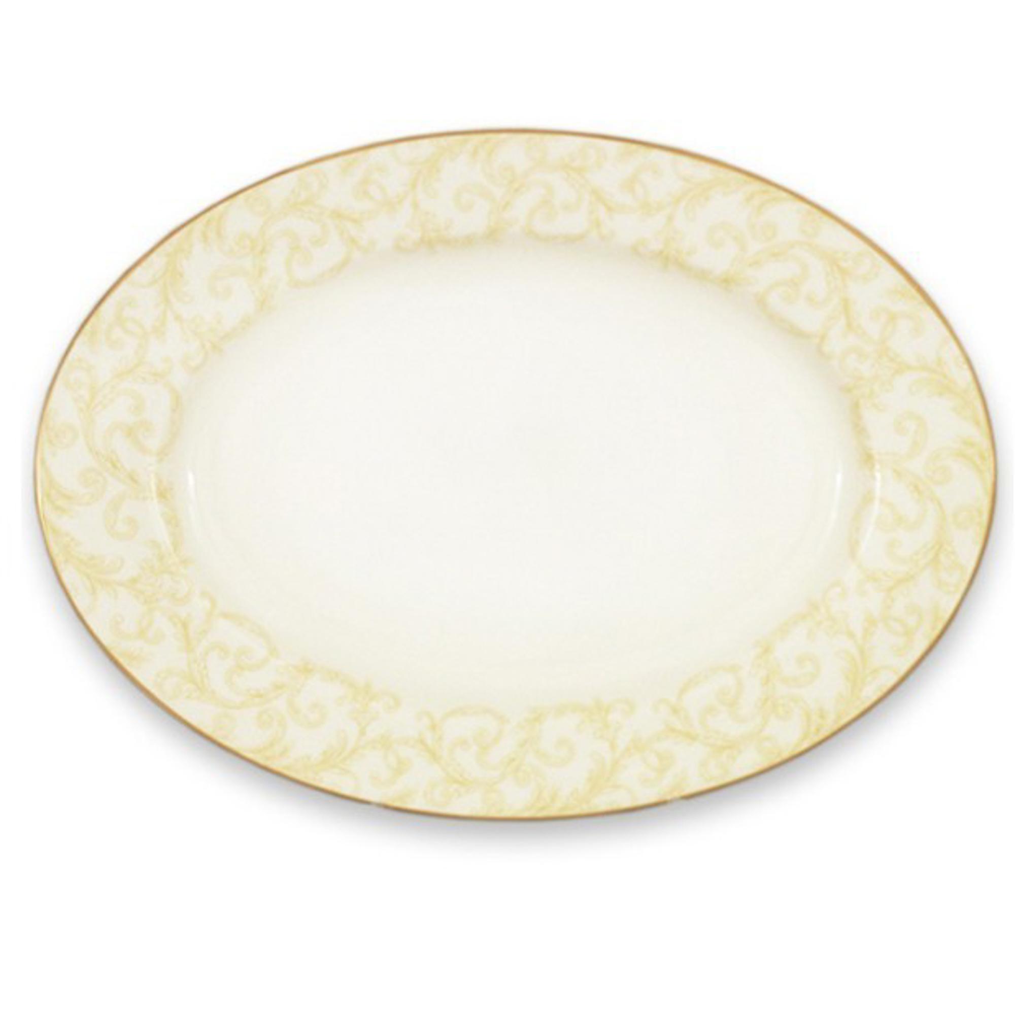 Блюдо овальное Narumi Версаль 44 см фото
