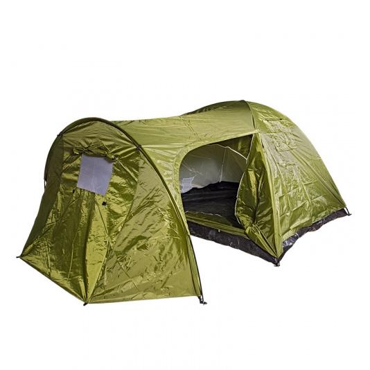 Фото - Палатка трехместная BOYSCOUT с тамбуром двухслойная палатка greenhouse fct 32 трехместная