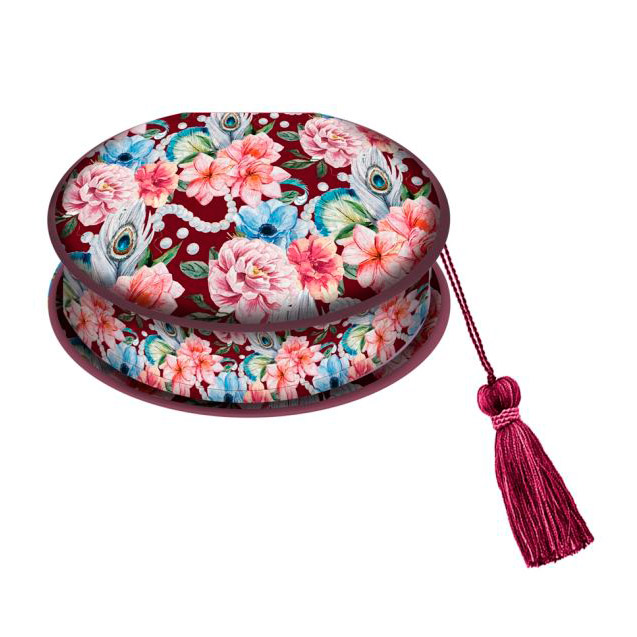 Фото - Шкатулка Феникс-Презент Цветы и жемчуг 17*11*5 см шкатулка сейф цветочки феникс презент 17х11х5 см