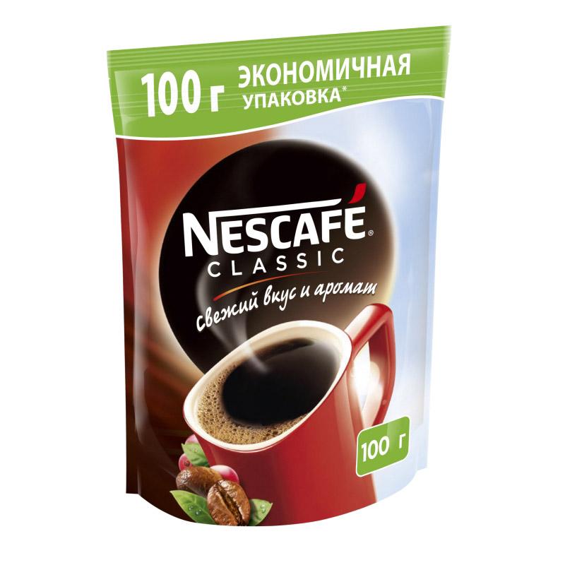 Кофе растворимый Nescafe Classic 100 г фото
