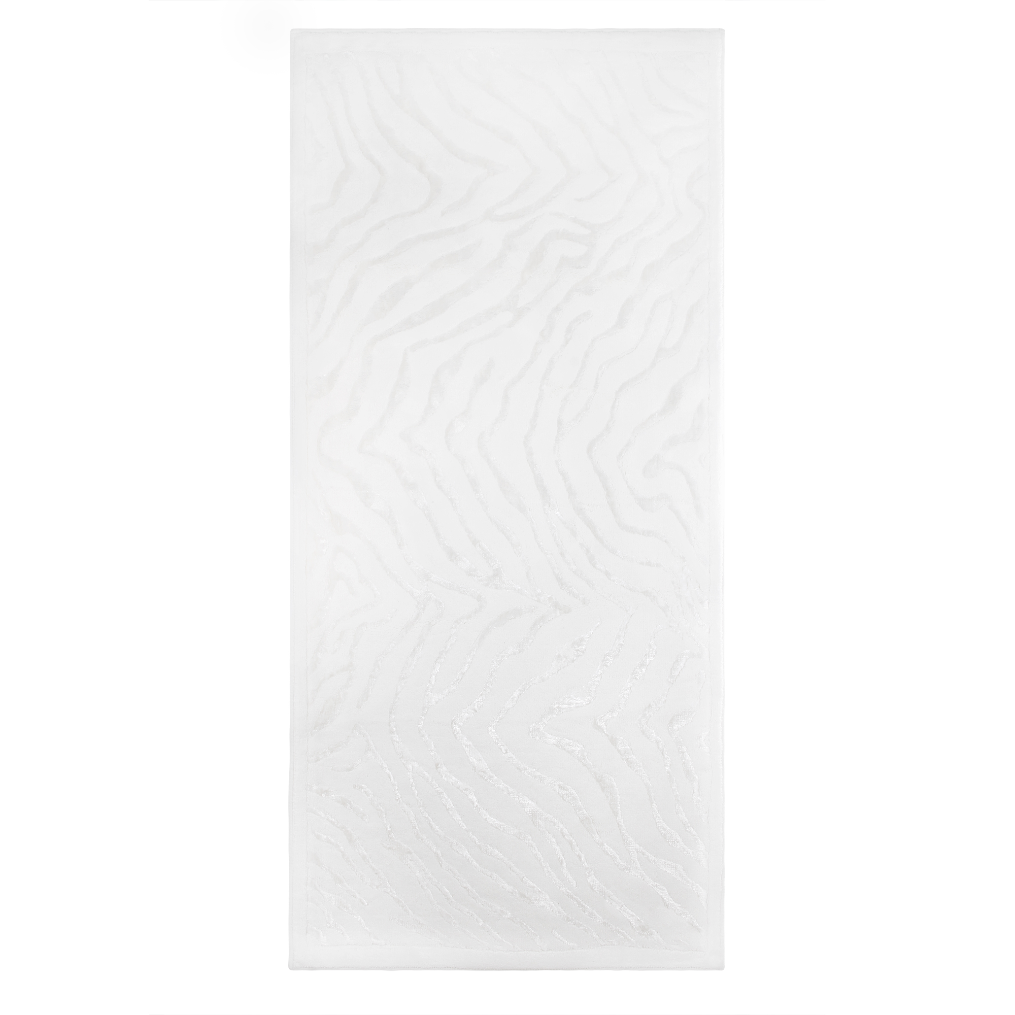 Ковёр 0.80х1.50 cotton zebra cream Ковровые галереи фото
