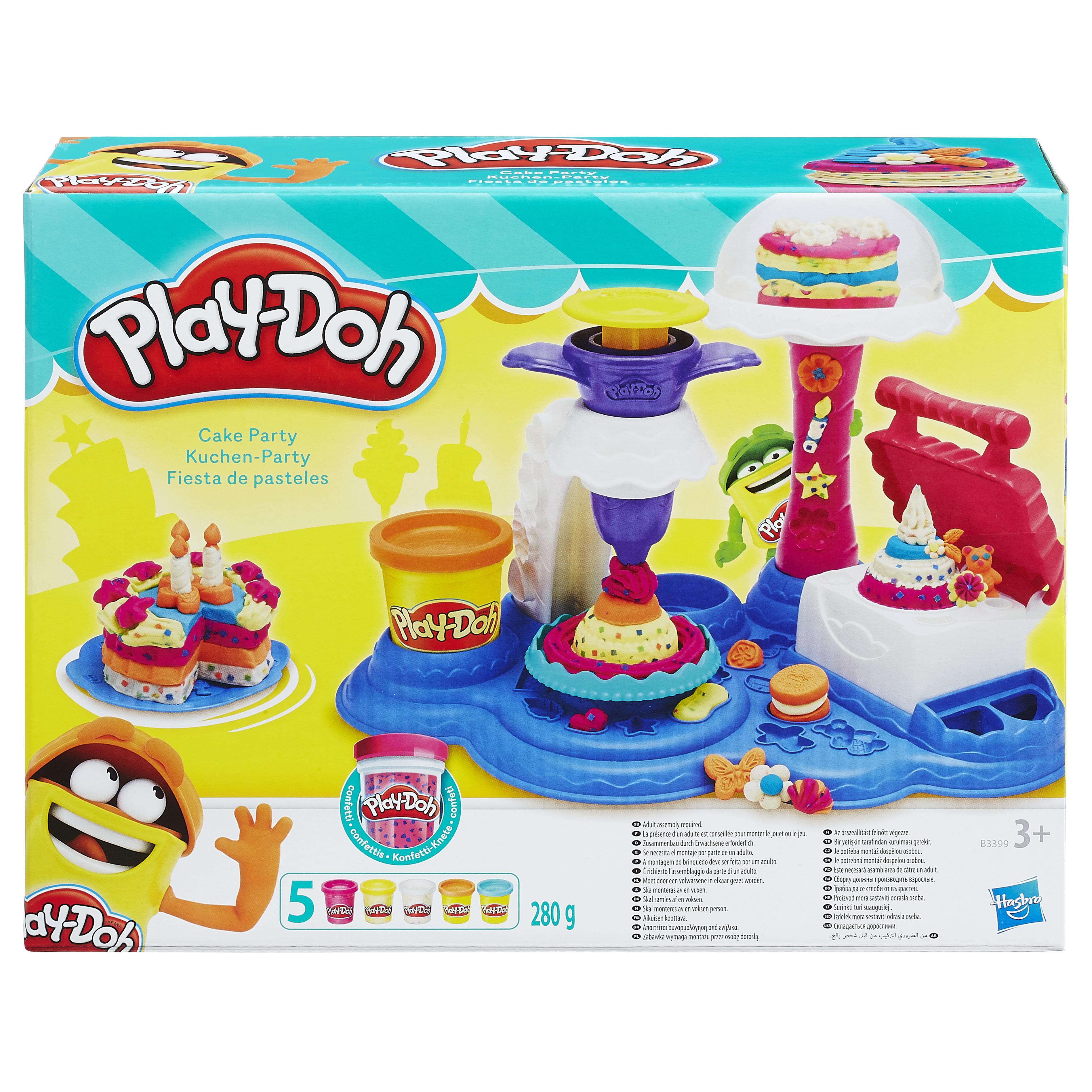 Купить Игрушка Play-Doh Игровой набор Сладкая вечеринка , Hasbro play-doh, Китай, Наборы игровые