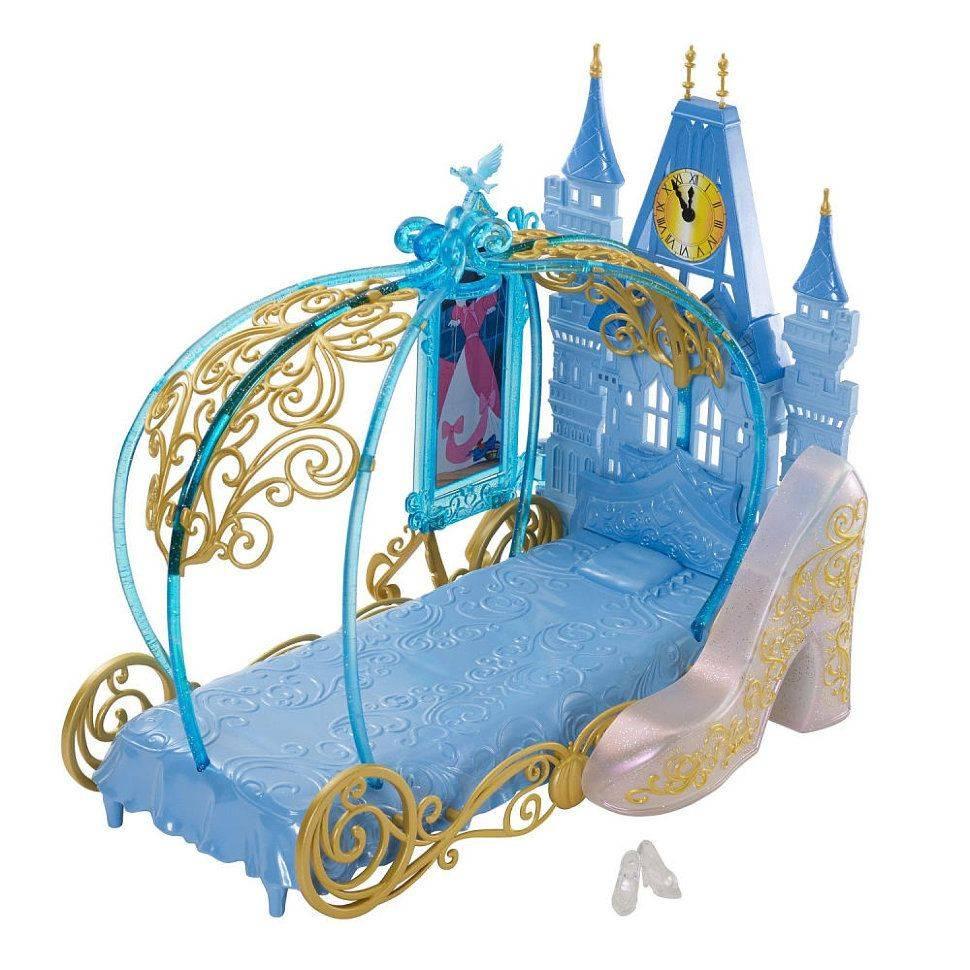 Мебель для куклы-принцессы Mattel Спальня для Золушки