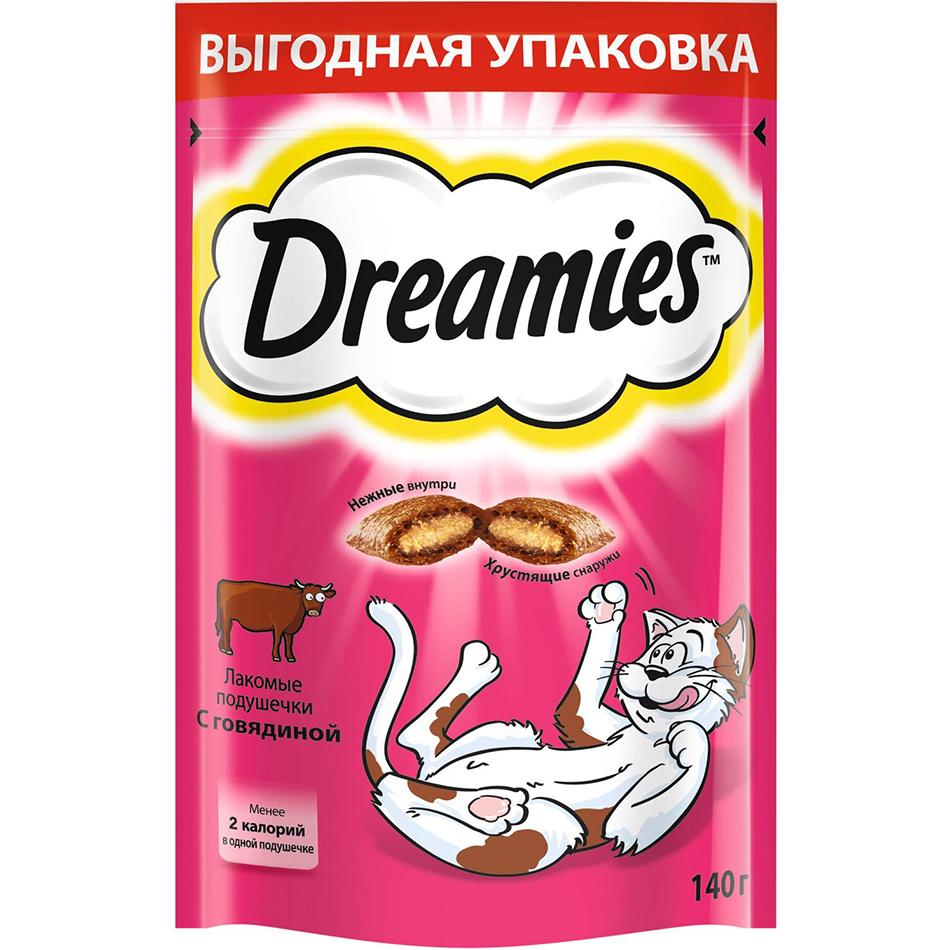 Лакомство для кошек Dreamies С говядиной 140 г