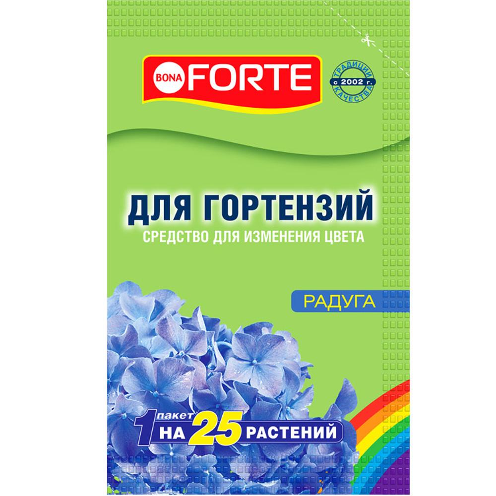 Средство для изменения цвета гортензий Радуга Bоna Forte, 100 г