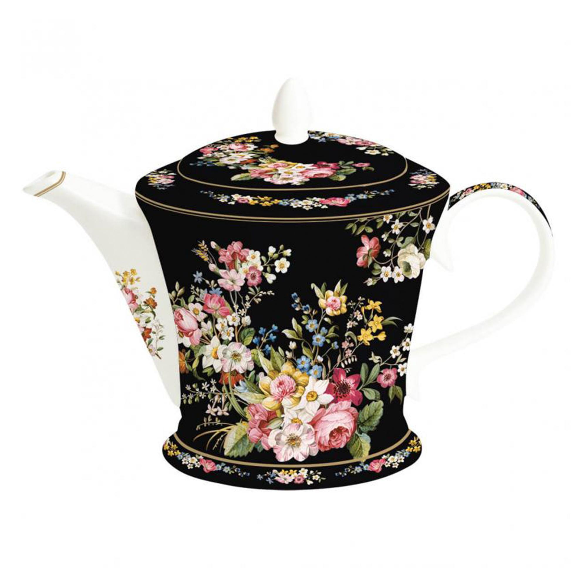 Чайник заварочный Nuova R2S Цветочный Карнавал 1 л заварочный чайник 1 5 л lilac 5520010 1