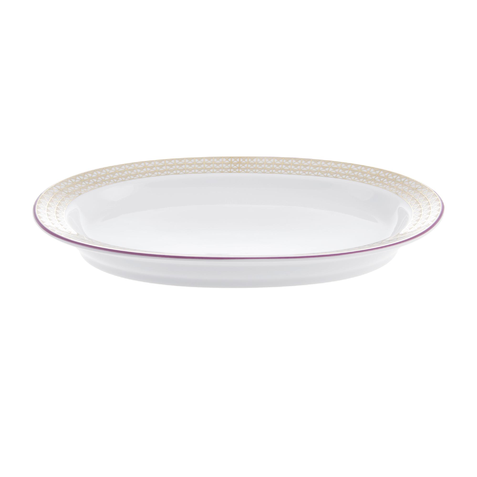 Фото - Блюдо овальное ИФЗ Замоскворечье 28 см блюдо овальное газания 28 см prt bg06600 x 20 portmeirion