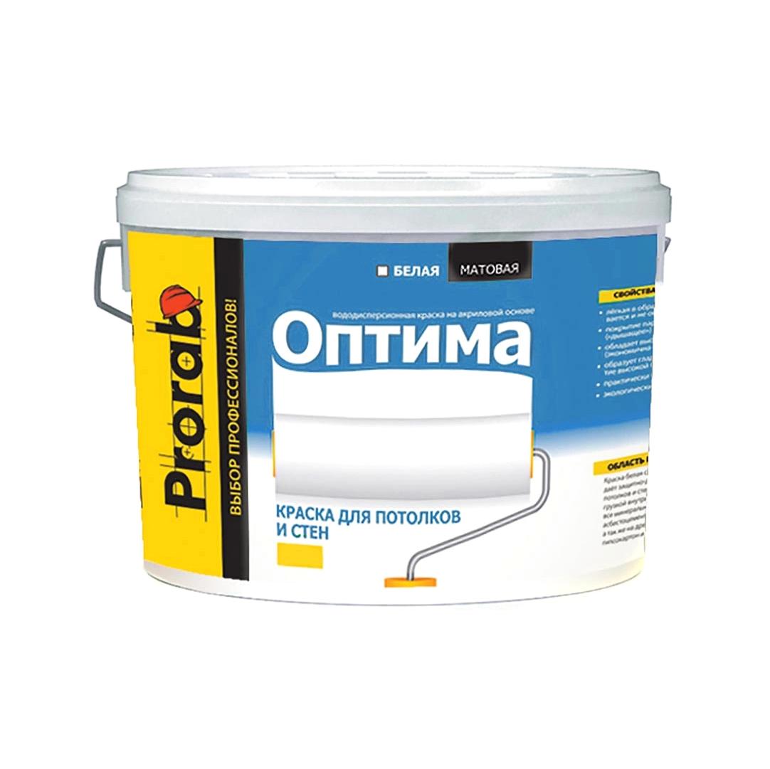 Краска Prorab Оптима для стен и потолков 3 кг