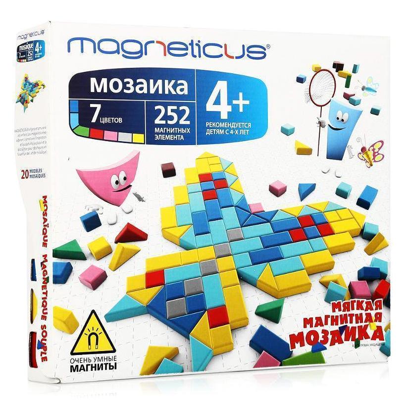 Мозаика Magneticus 252 элемента 20 этюдов