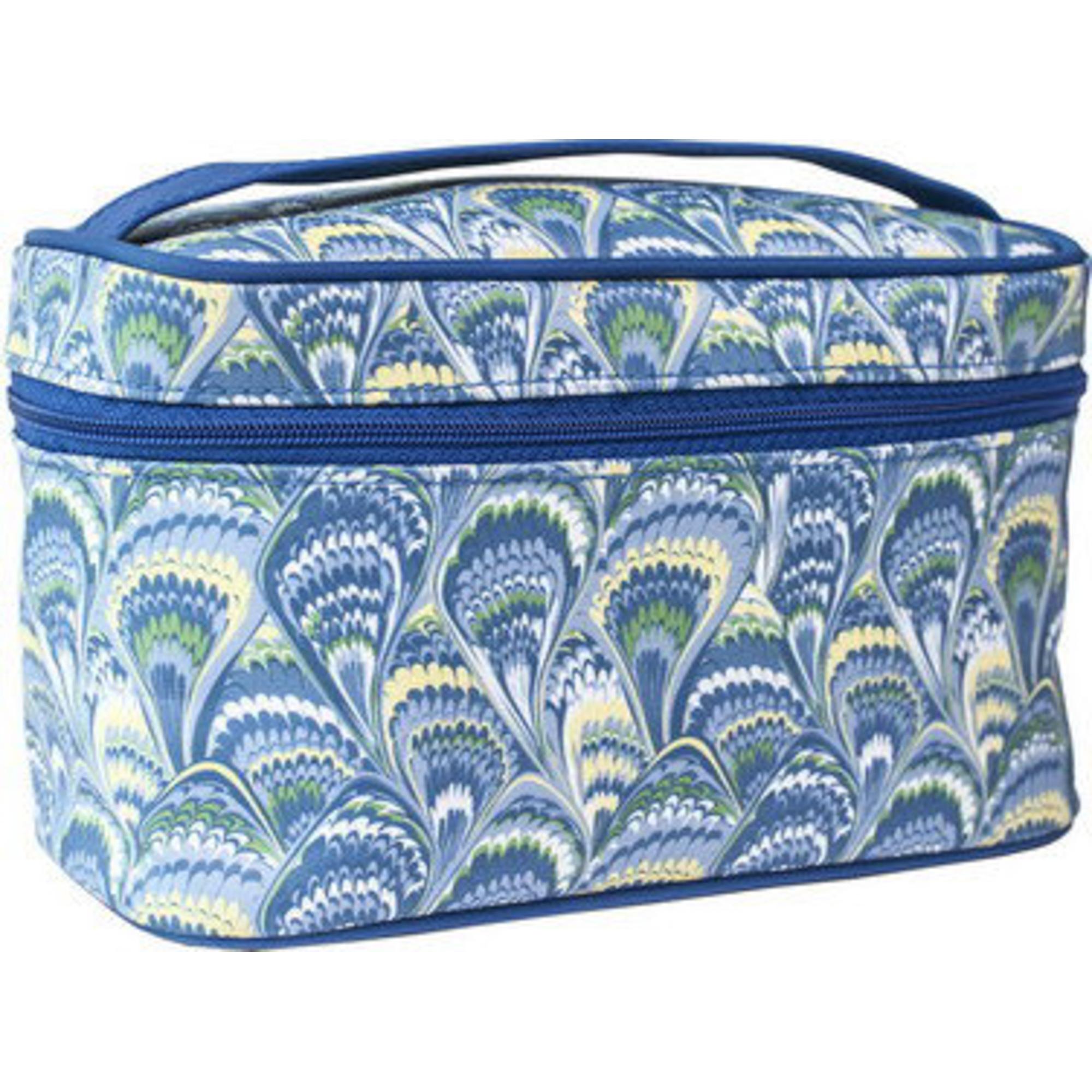 Косметичка Beauty Павлин чемодан узкий