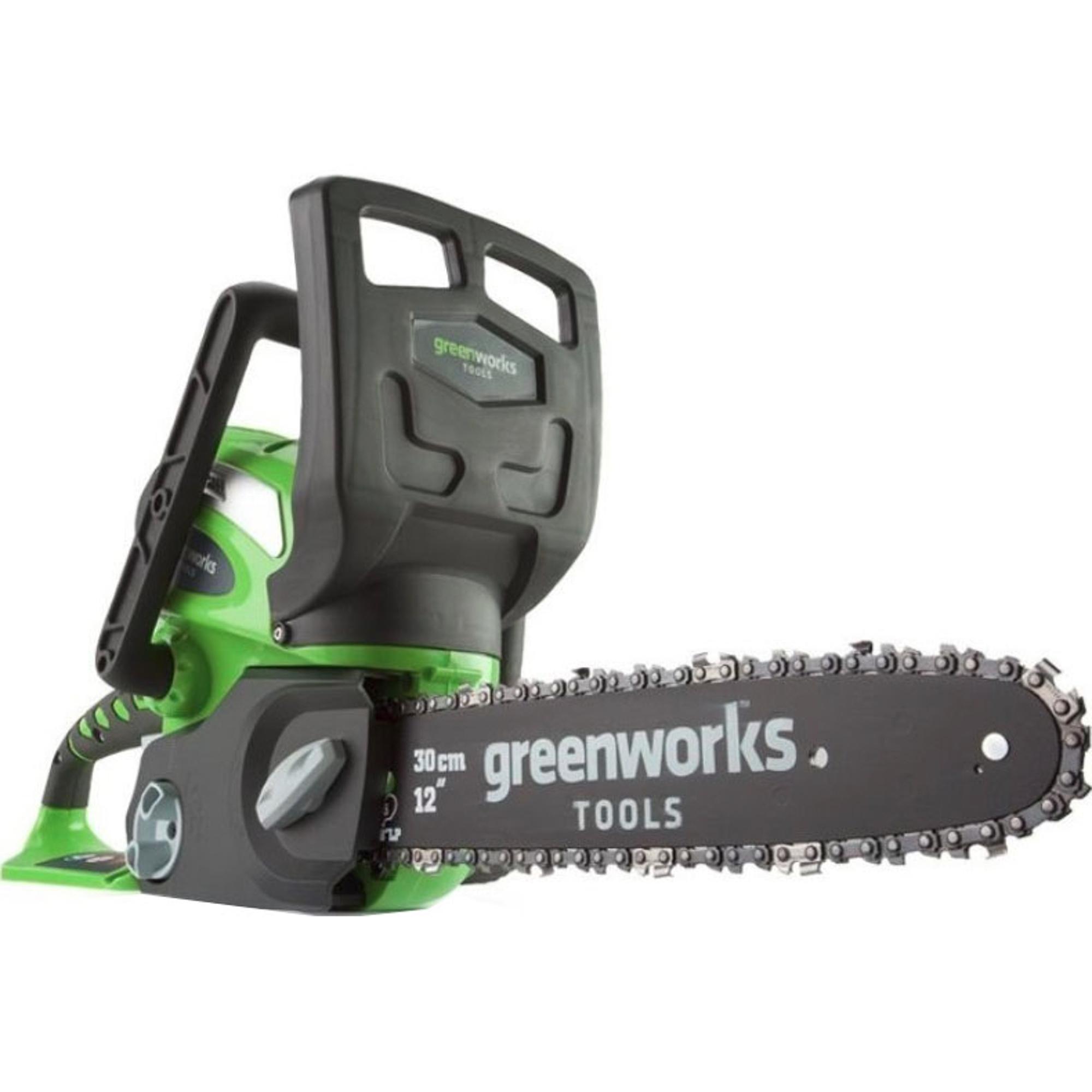 Купить Пила цепная Greenworks G-MAX G40CS30 20117 без аккумулятора и ЗУ, Китай