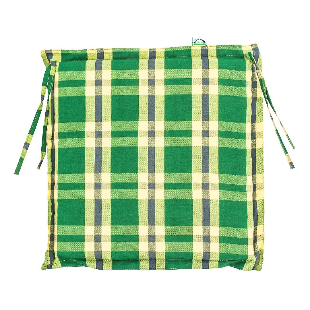 Подушка для стула Летолюкс Бриз цвет в ассортименте (ЛЛ03) фото