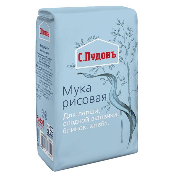 Рисовая мука С.Пудовъ 500 г