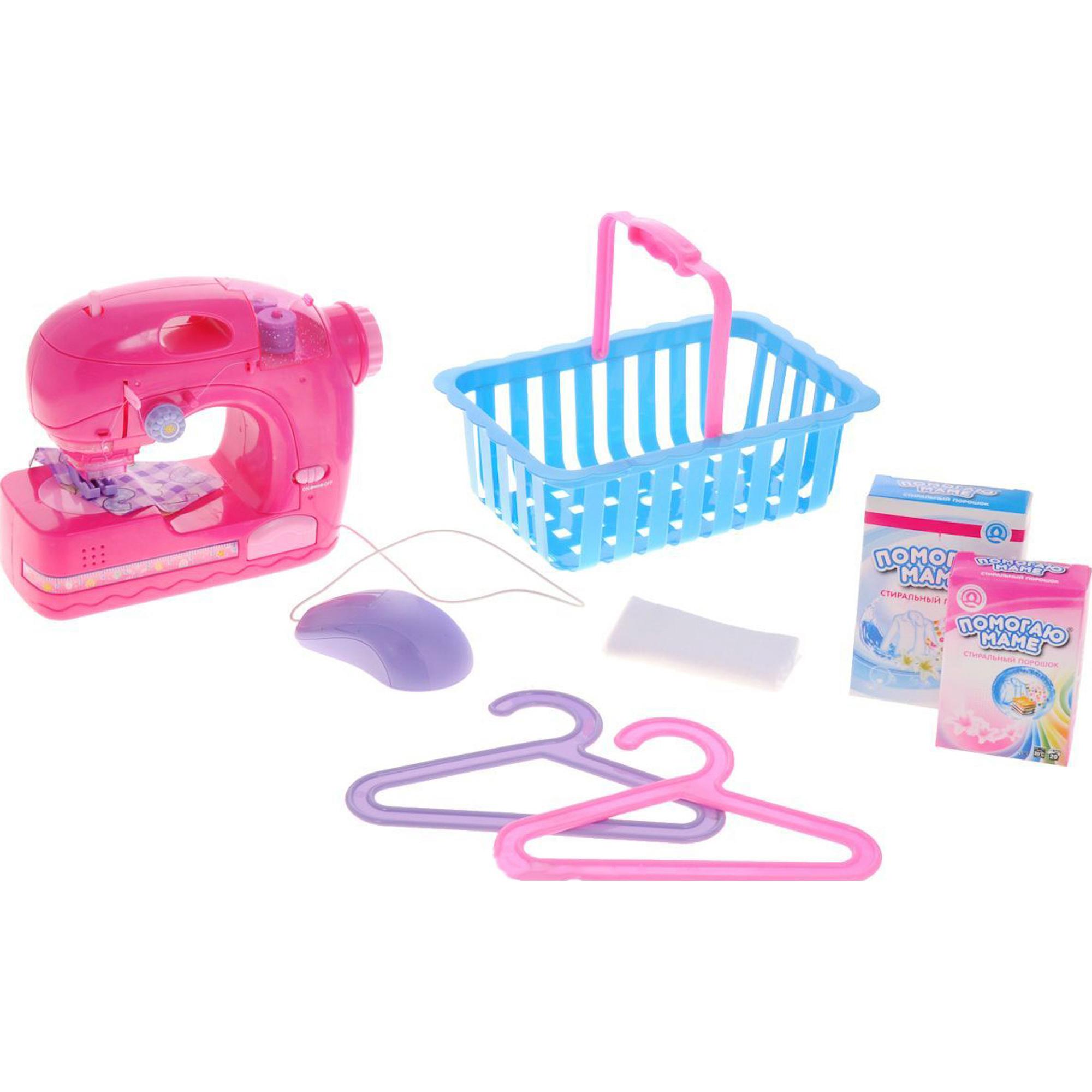 Игровой набор ABtoys Помогаю маме Швейная машинка PT-00229 фото