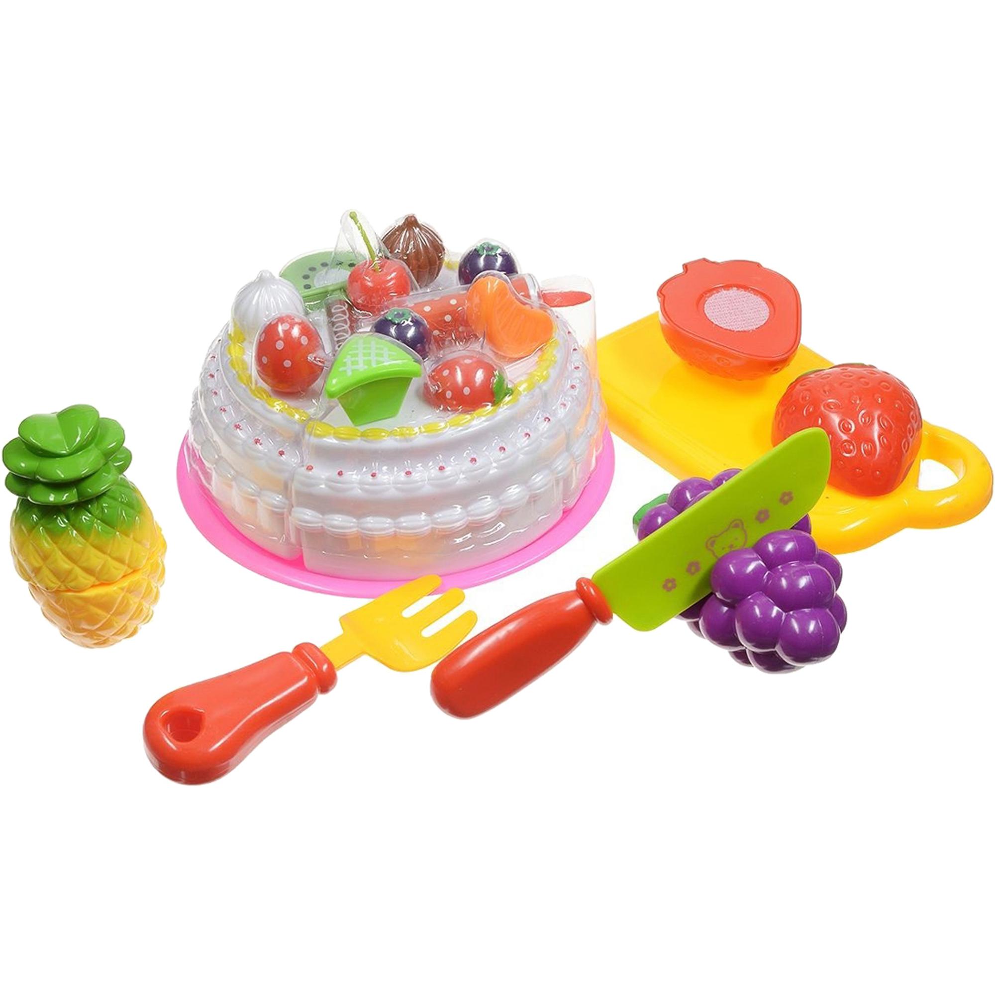 Купить Игровой набор ABtoys Помогаю Маме Набор продуктов для резки PT-00282, Китай, пластик, Наборы игровые