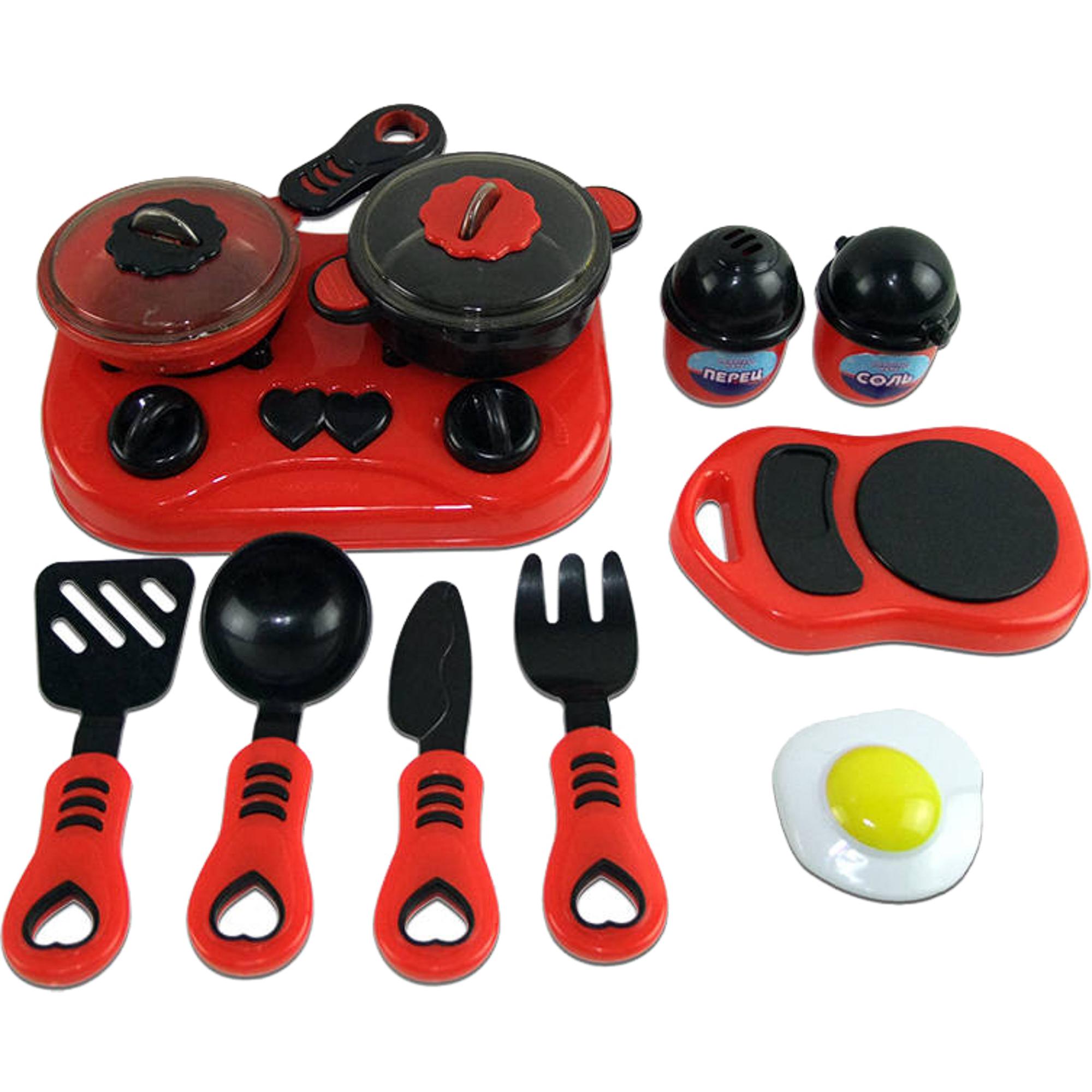 Игровой набор ABtoys Помогаю Маме Набор посуды для кухни с продуктами PT-00321 набор мебели счастливые друзья для кухни с аксесс abtoys