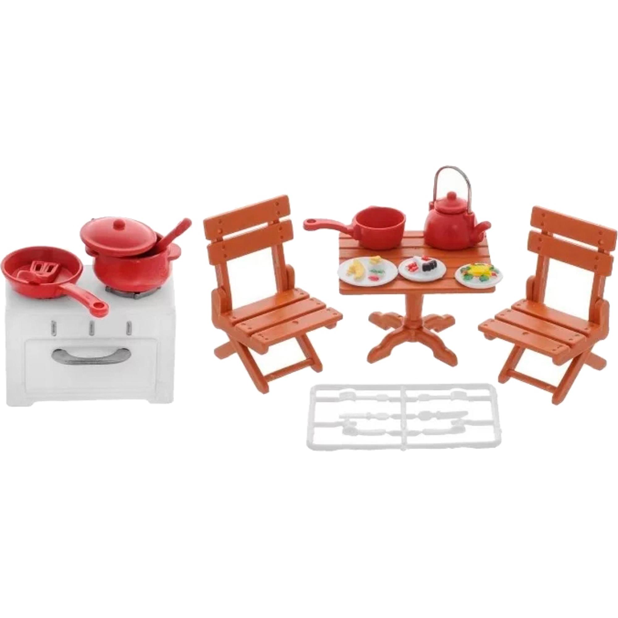 Набор мебели ABtoys Кухня-столовая набор мебели счастливые друзья для кухни с аксесс abtoys