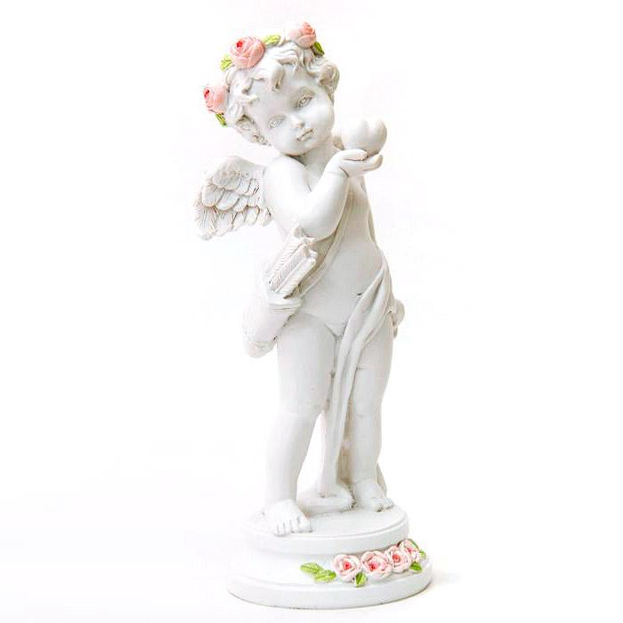 Фигурка декоративная Ангел с сердцем 16см Феникс-Презент