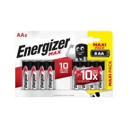 Батарейки Energizer Max АА 8 шт фото