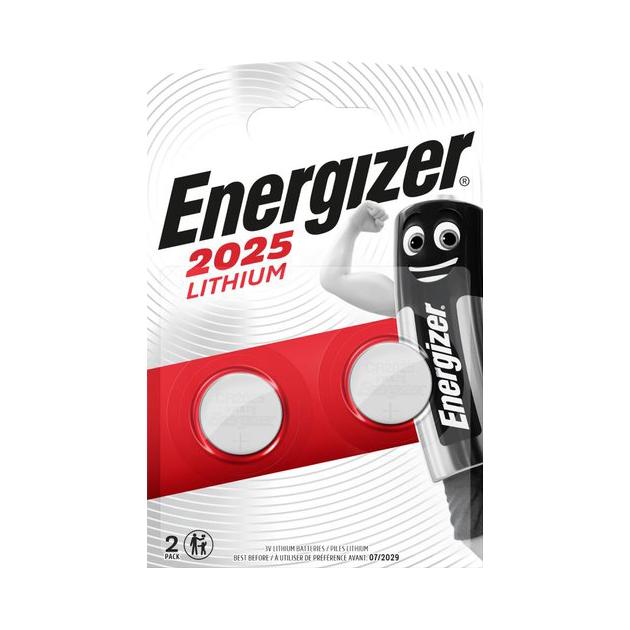 Батарейка Energizer Lithium CR2025 3V 2 шт фото