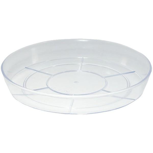 Поддон Интерлинк 12см прозрачный кашпо интерлинк волна 12 см бирюзовый