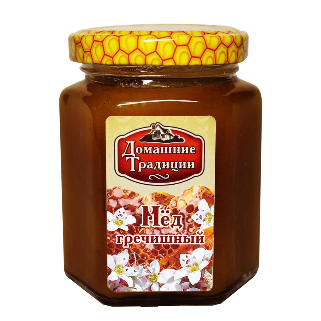 Мед гречишный Домашние Традиции ГОСТ 250 г луговица мед натуральный гречишный 250 г