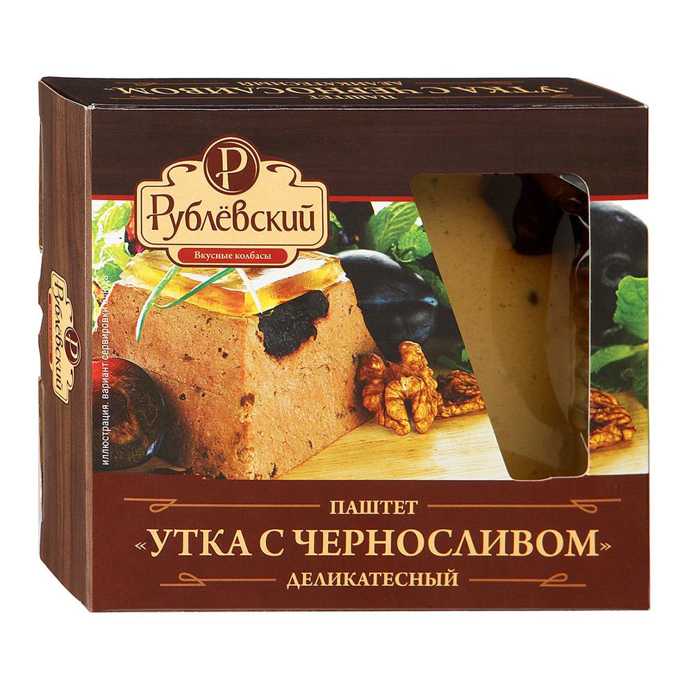 Фото - Паштет Рублевский Утка с черносливом 200 г сало рублевский белорусское 250 г