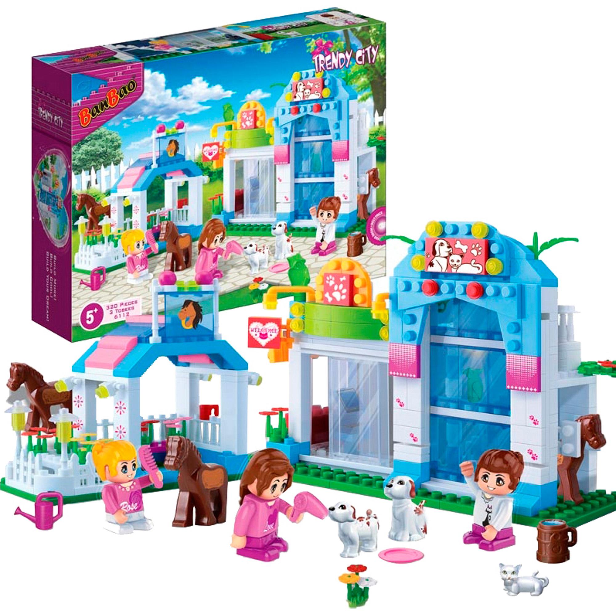 Купить Конструктор BanBao Зоомагазин, Китай, пластик, для девочек, Конструкторы, пазлы
