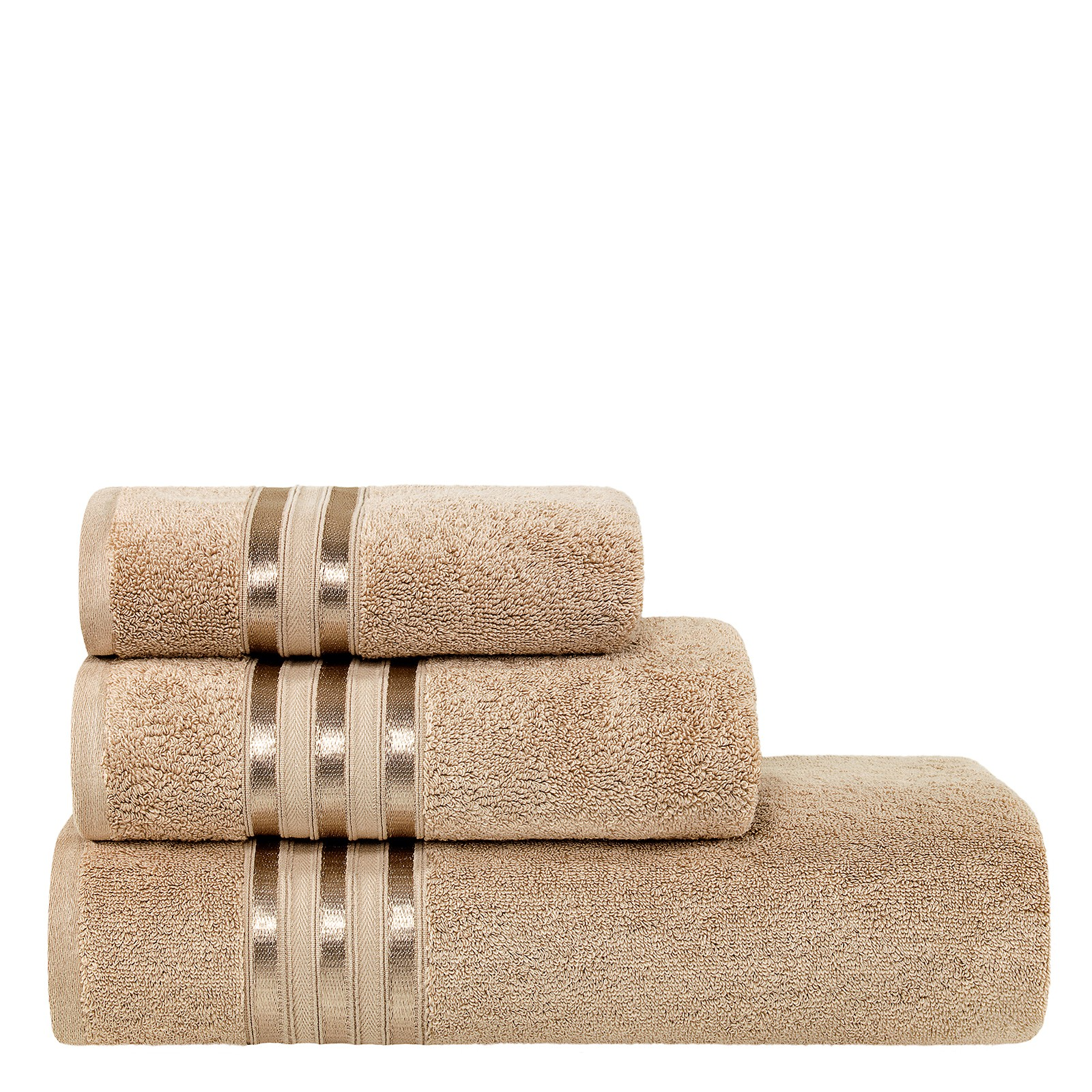 Купить Полотенце аркадия беж 50х100. 600г/м2 (10.00.01.1081), Togas, полотенце, бежевый, 100% хлопок