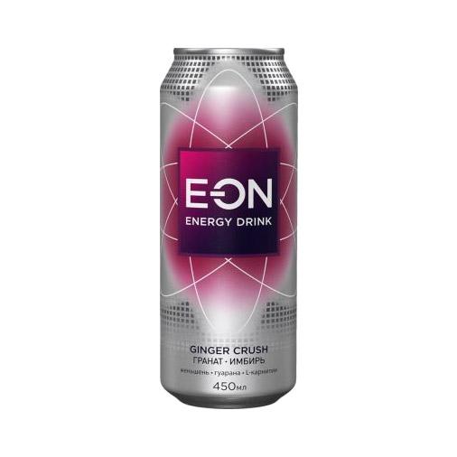Напиток энергетический E-On Ginger Crush 450 мл on